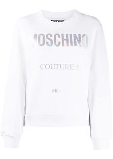 Moschino Couture logo sweatshirt