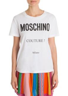 Moschino Couture Milano Logo Tee