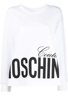 Moschino Couture logo-print sweatshirt