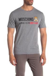 e8ff4b3b7 Moschino Graphic Crewneck Cotton Tee | Casual Shirts