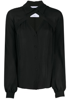 Moschino cut-out detail blouse