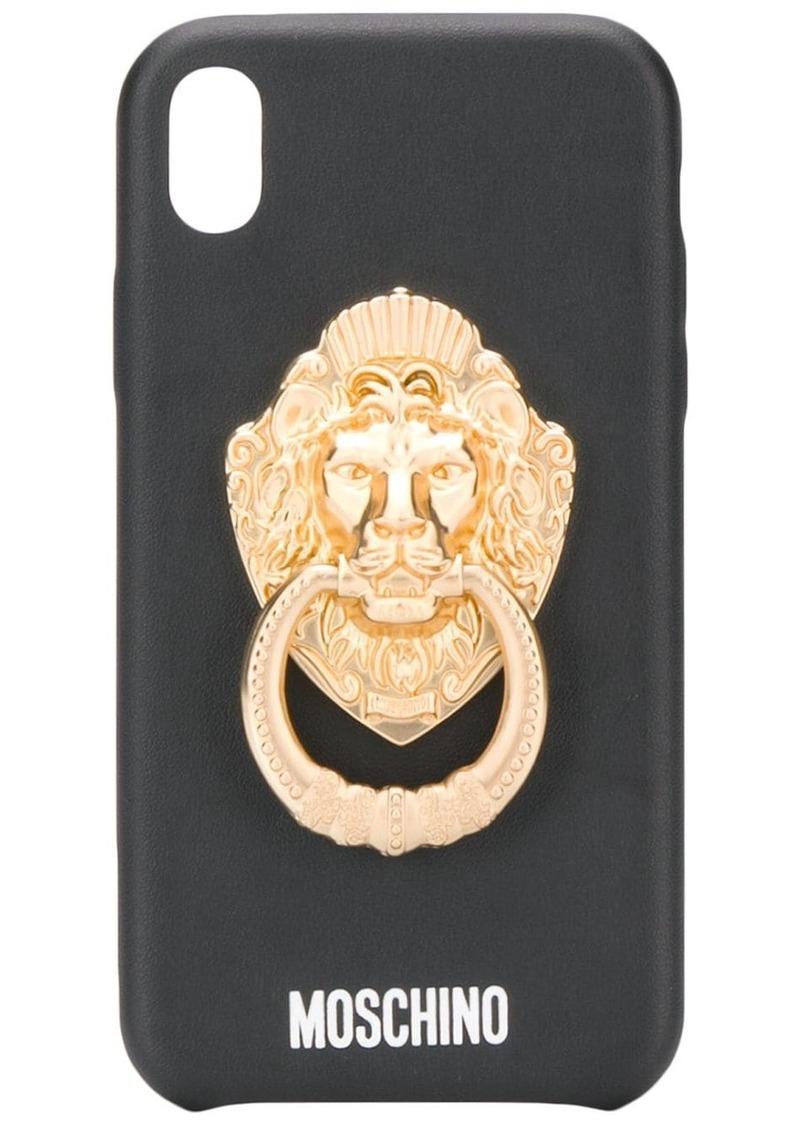 Moschino door handle iPhone X/XS case