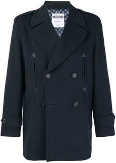 Moschino double breasted coat