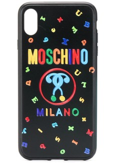 Moschino Double Question Mark iPhone XS MAX case
