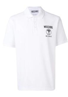 Moschino Double Question Mark logo polo shirt