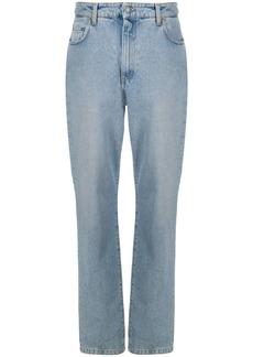 Moschino dungaree straight-leg jeans