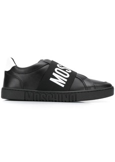 Moschino elastic band sneakers