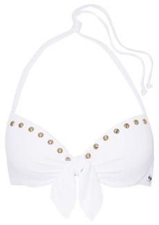 Moschino Embellished Halterneck Bikini Top
