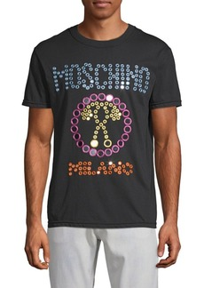Moschino Embroidered Cotton Tee