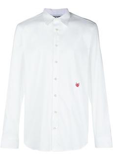Moschino embroidered heart shirt