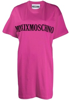 Moschino embroidered Roman Numeral logo T-shirt