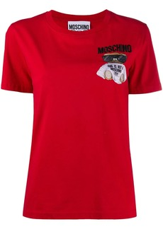 Moschino embroidered Teddy Bear T-shirt