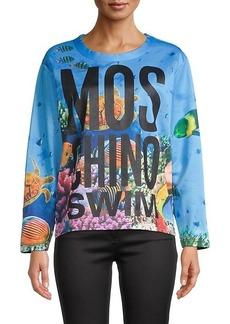 Moschino Fantasia Printed Pullover