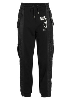 Moschino Fantasy Mixed-Media Pants