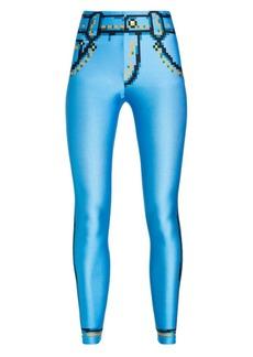 Moschino x Sims Pixel Capsule Leggings