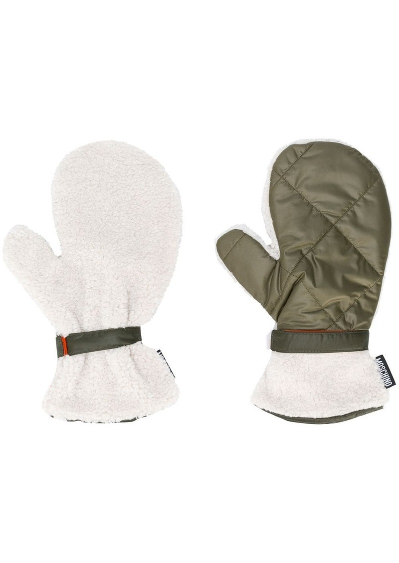 fleece-lined gloves