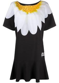 Moschino floral print t-shirt dress
