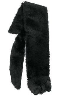 Moschino fox motif scarf
