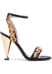 Moschino Frame decoration sandals