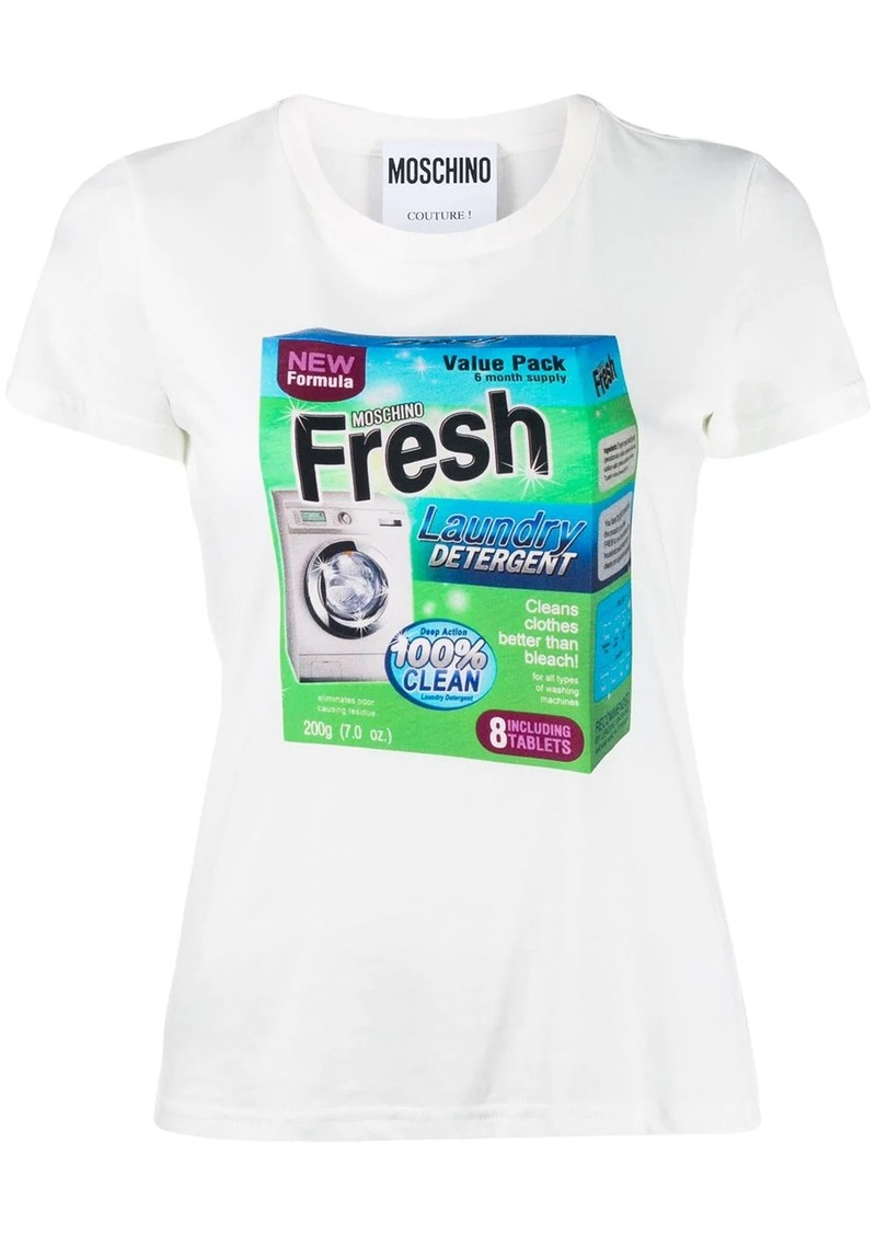 "Moschino ""fresh"" print T-shirt"