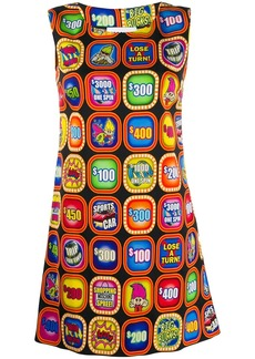 Moschino fruit machine print dress