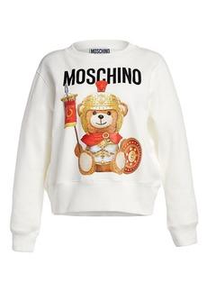 Moschino Gladiator Bear Graphic Sweatshirt