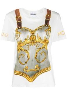 Moschino gladiator print T-shirt
