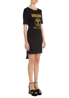 Moschino Graphic Logo Tee Dress