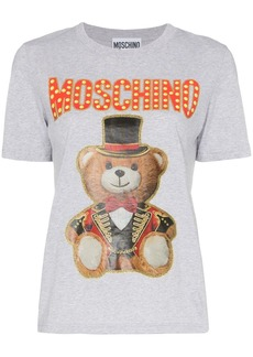 Moschino graphic print cotton T-shirt