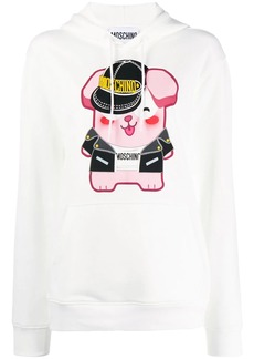 Moschino graphic print hoodie
