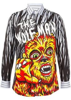 Moschino graphic print shirt