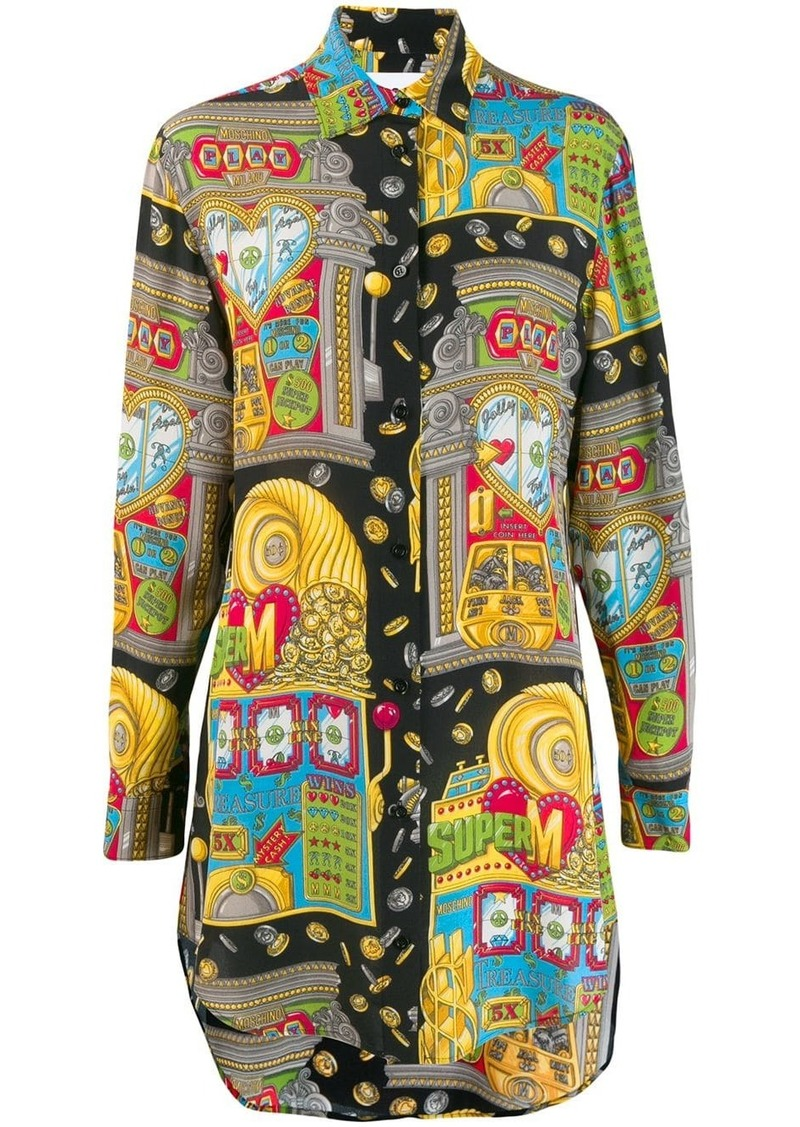 Moschino graphic print shirt