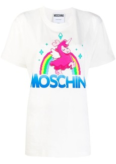Moschino graphic print T-shirt