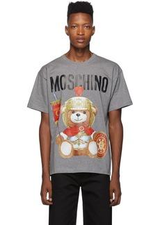 Moschino Grey Gladiator Teddy T-Shirt
