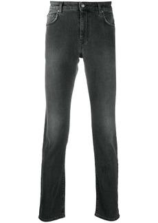 Moschino grey wash denim jeans