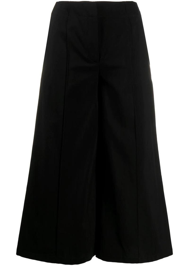 Moschino high-rise wide-leg culottes