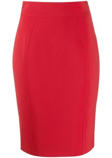 Moschino high-waisted pencil skirt