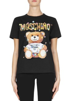 Moschino Holiday Teddy Fitted Tee
