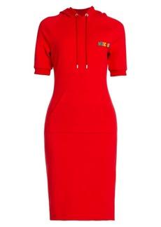Moschino Hoodie Midi Dress