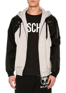 Moschino Hybrid Sweatshirt Jacket