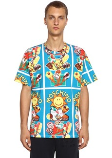 Moschino Ice Cream Printed Cotton Jersey T-shirt