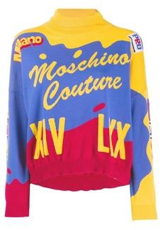 Moschino Intarsia jumper