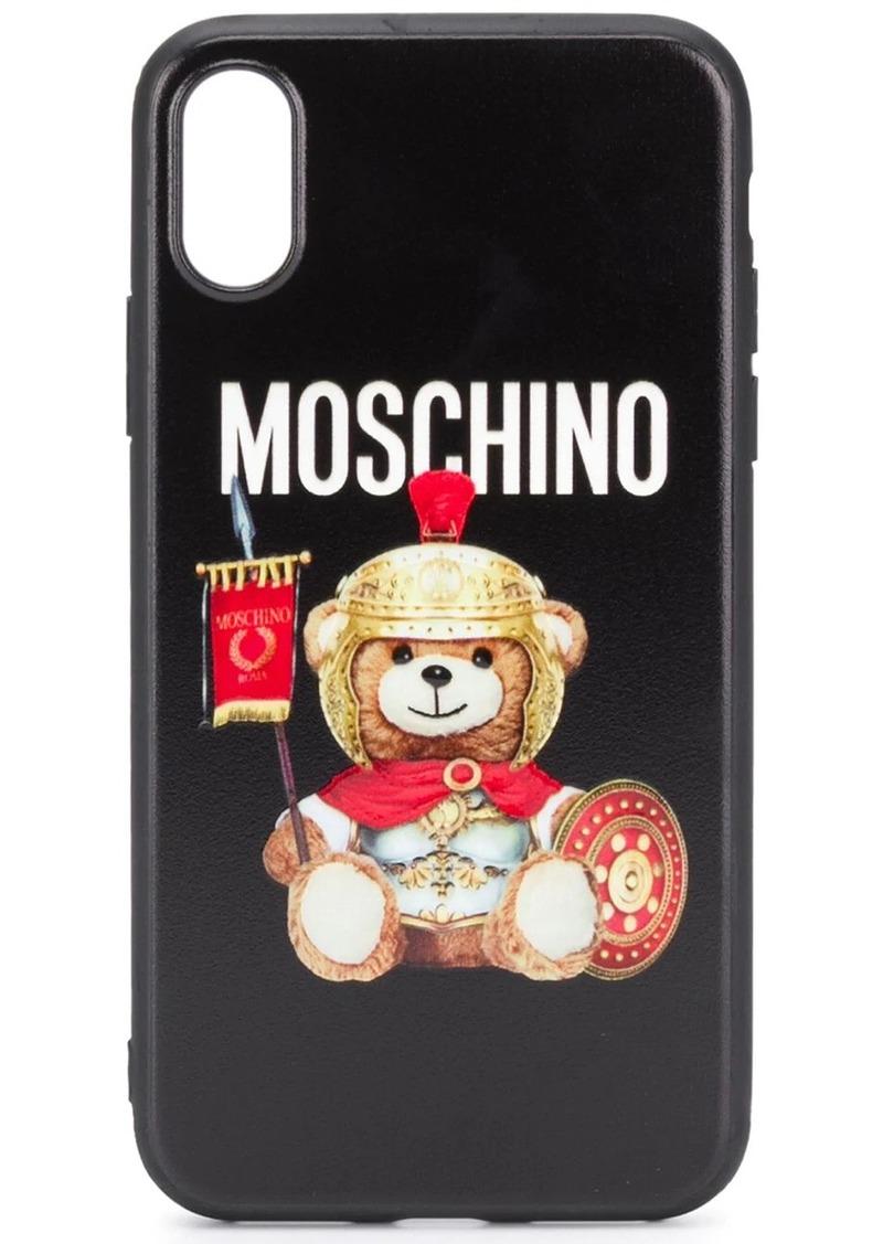 Moschino iPhone X/XS Teddy Bear case