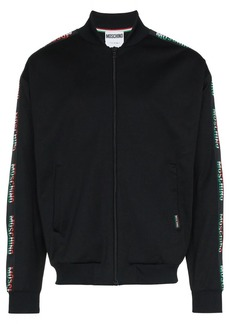 Moschino italian flag logo jacket