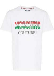 Moschino Italy logo cotton T-shirt