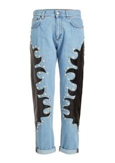 Moschino Jeans with Embellishment