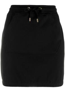 Moschino jersey mini skirt