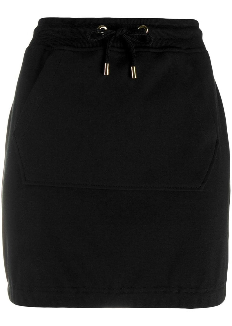 Moschino jersey mini skirt