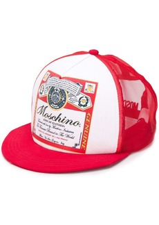 Moschino King of Clothes print cap