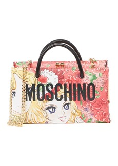 Moschino Kiss-Lock Tote
